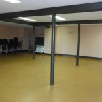Included in the rental is access to chairs and folding tables