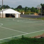 Enjoy exclusive access to basketball courts when you rent the entire park