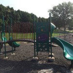 Kids will enjoy the park's playground